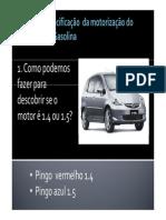 Motor Honda Fit