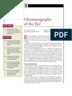 Ultrasonography of the Eye