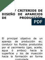 2.) Tipos y Criterios de Diseño de Aparejos