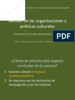 Clase 01 Musica Gestión Culturale 2014