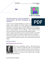 Novela Historia Dictadura