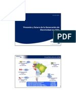 Present and future of Chile's power generation