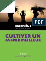 Oxfam Cultiver Un Avenir Meilleur 2011