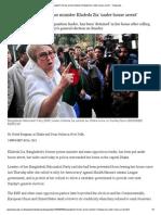 Bangladesh's Former Prime Minister Khaleda Zia 'Under House Arrest' - Telegraph