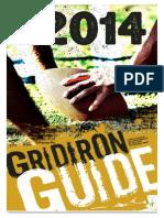 2014 Gridiron Guide