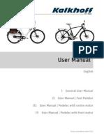 Kalkhoff Users Manual