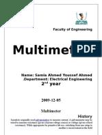 Multimeter 2007