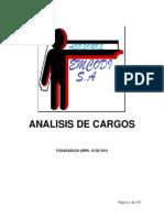 analisis de cargo