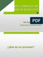 Dise+¦o y selecci+¦n de procesos