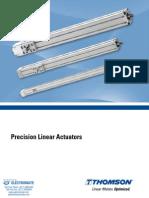 Thomson Precision Linear Actuators Specsheet