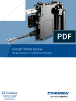 Thomson Electrak Throttle Actuator Catalog