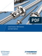 Thomson LeadScrews BallScrews BallSplines Catalog