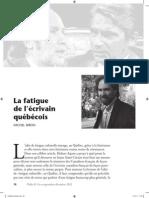 Fatigue Culturelle
