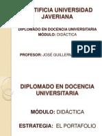 Portafolios-DidacticaUniversidad