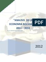 108767217 Analisis de La Economia Boliviana 2012