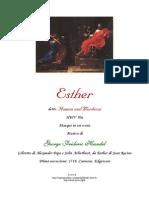 Libreto Esther