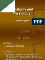 Anatomy Unit 4 - Tissue Types