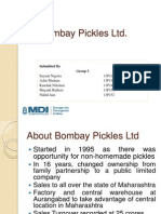 11. Bombay Pickles