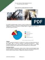 Contaminación en Las Regiones de Ecuador