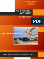 The 3 Angels Messages-time to Study