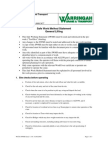 Safe Work Method Statement General Lifting