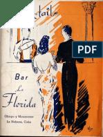 Cocktails Bar La Florida (1935)