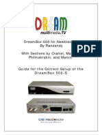 Dreambox 500 for Newbies 5.5