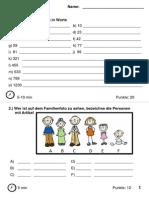 German Test Basics