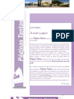 Páginas Tantas -2ª edição- 2009/1010