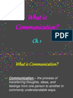 ch  1 - what is communication