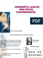 Clase 2 Ligamiento, codominancia y alelos múltiples