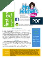 school newsletter august