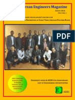 Alpha Eritrean Engineers Magazine 2014 August Issue
