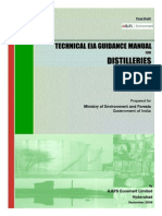 EIA Guidelines Distilleries 2010