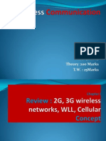 2g 3g WLL Cellular Concept