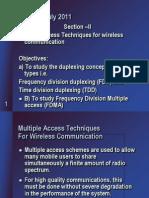 FDMA,TDMA,CDMA