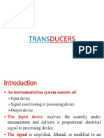 New Transducers Application