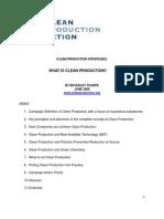 Factsheet1 Clean Production