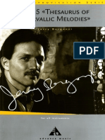 Jerry Bergonzi - Vol.5 - Thesaurus of Intervallic Melodies