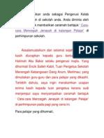 Contoh Teks Pengucapan Awam Dalam Bentuk Ceramah