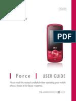 LG370 Force UG English
