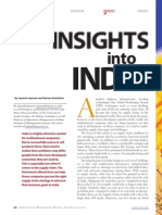 Insights into india supply chain