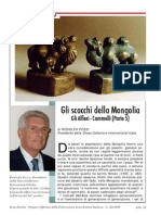 """Rodolfo Pozzi-Gli scacchi della Mongolia Parte 5-Pagine Da """"Scacchitalia"""" nr. 12-2010"""