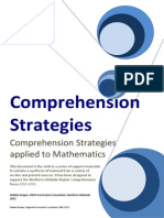 comprehension and mathematics debbie draper