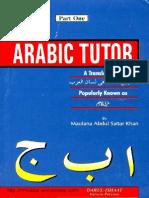 ArabicTutorpart-1ByMaulanaAbdulSattarKhan
