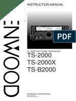 Kenwood TS-2000 - Manual English