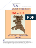 Numerology of the Beast