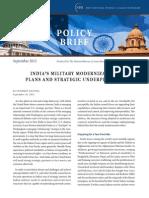 201209 India's Military Modernization-NBR