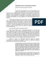 RESENHA AULA 3 - Raízes da desigualdade social na cultura política brasileira1.docx