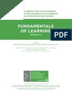 Learning Fundamentals
